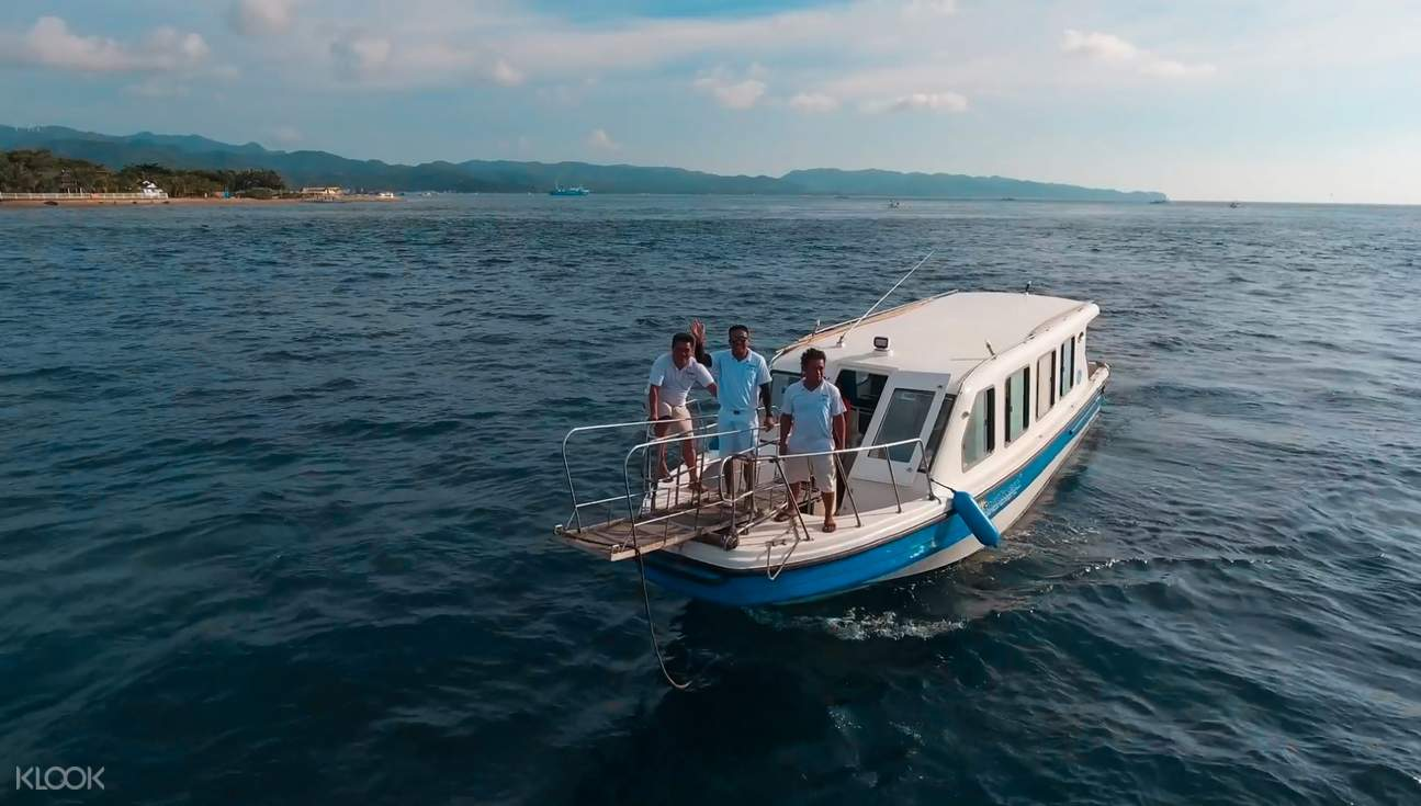 speedboat service in boracay