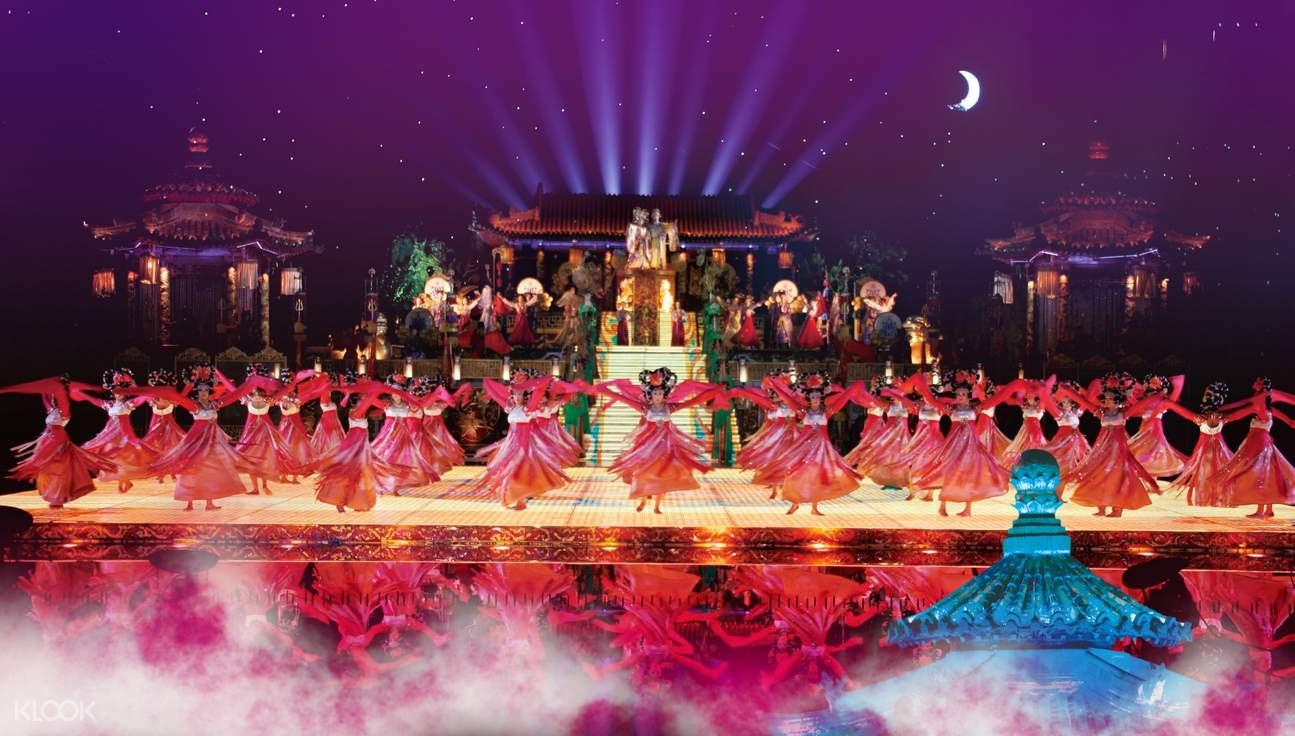 Xi'an Chang Hen Ge cultural show