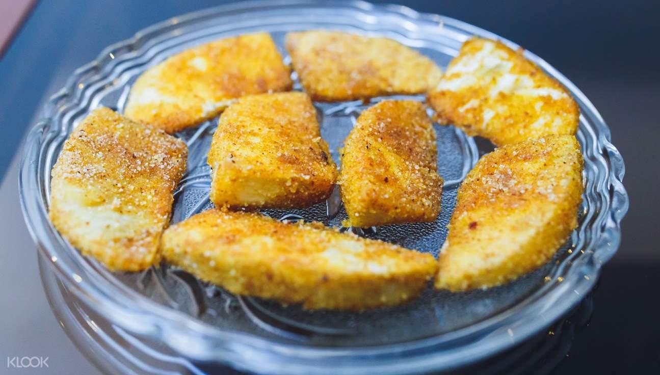 果阿传统炸鱼
