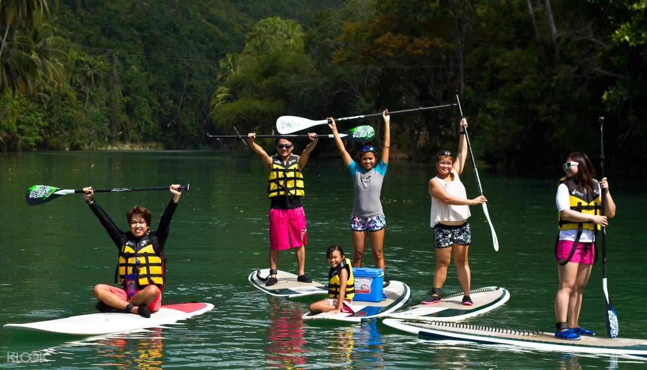 Stand up Paddle Boarding Sungai Loboc
