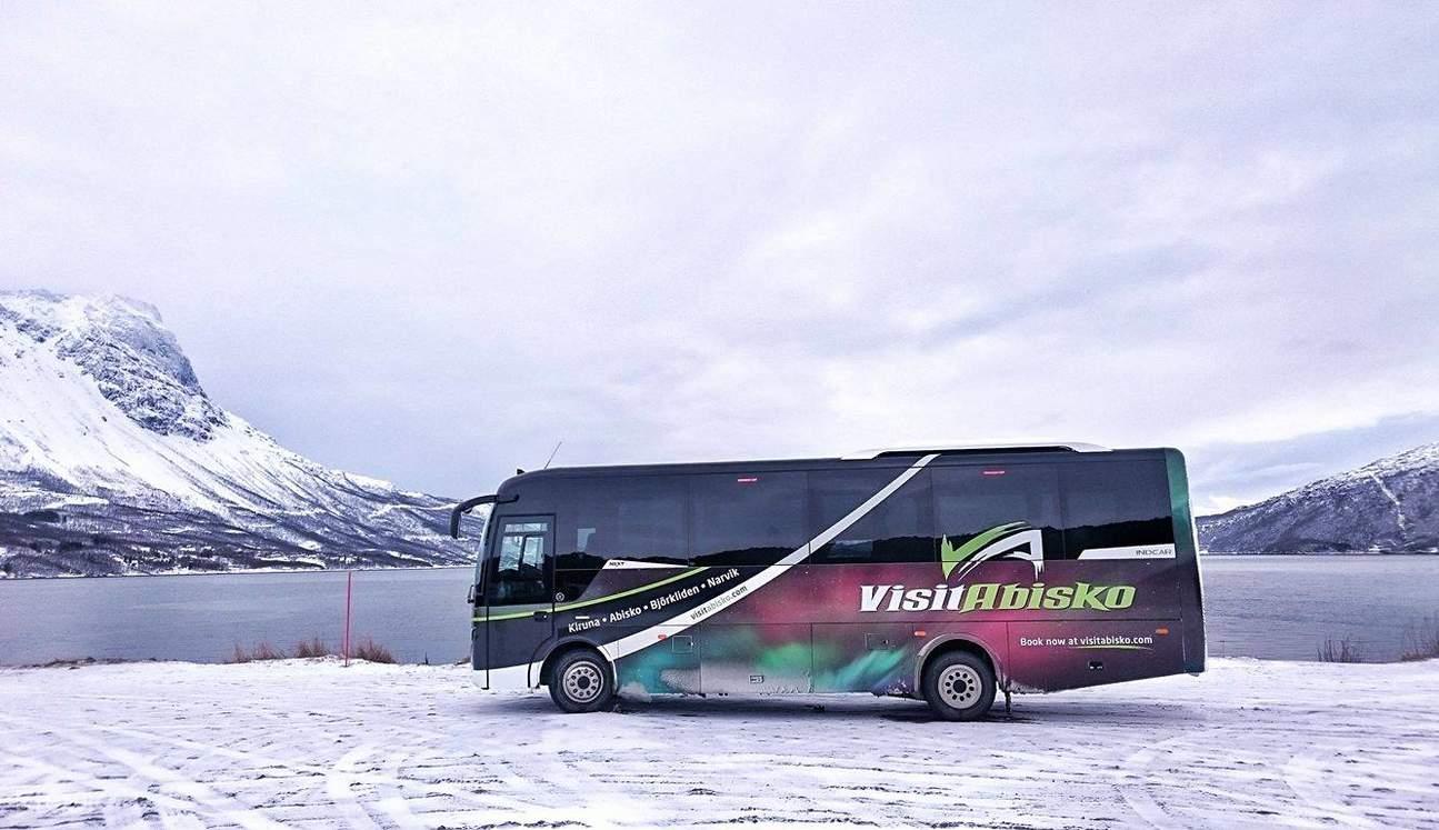 transfer service abisko tour