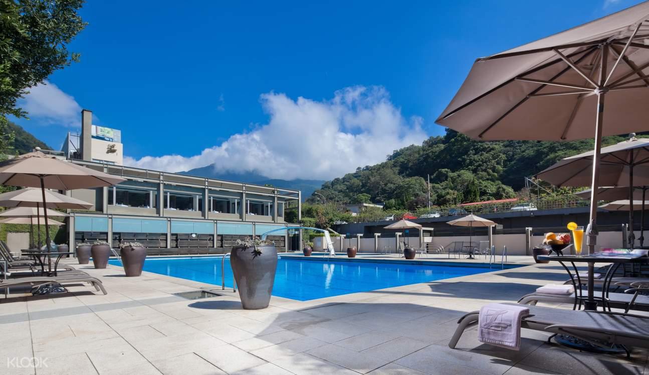 中國麗緻大飯店 戶外泳池