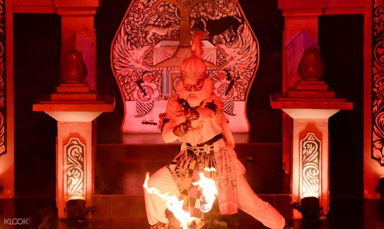 the villain in the ramayana ballet