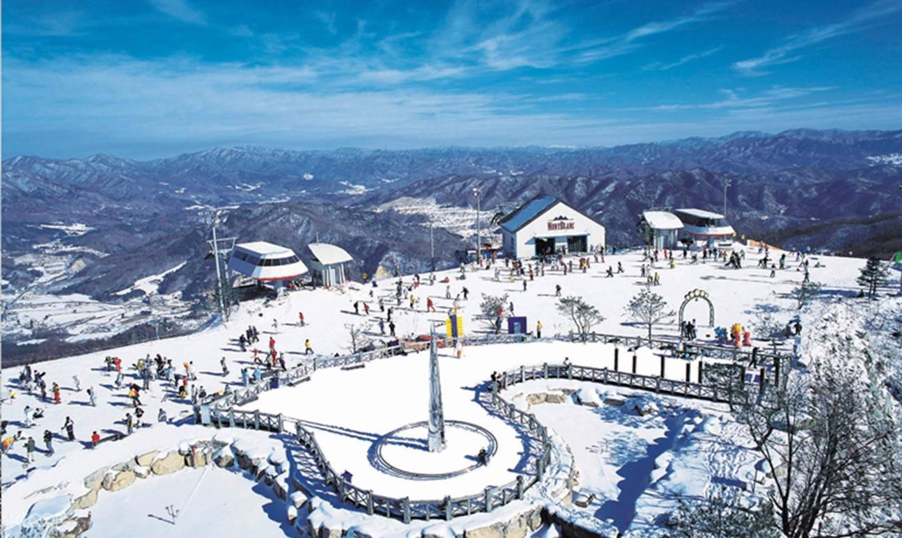 pheonix park ski resort shared shuttle bus transfers - klook