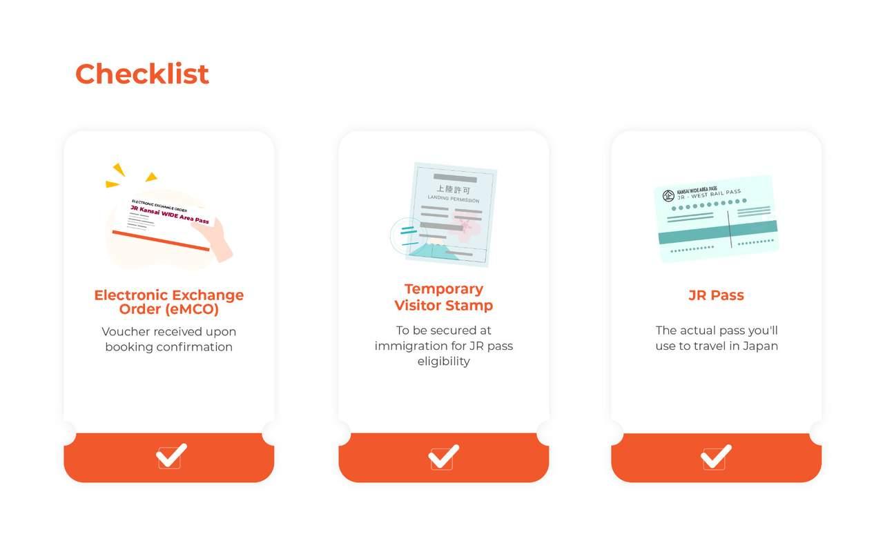 checklist jr kansai wide rail pass