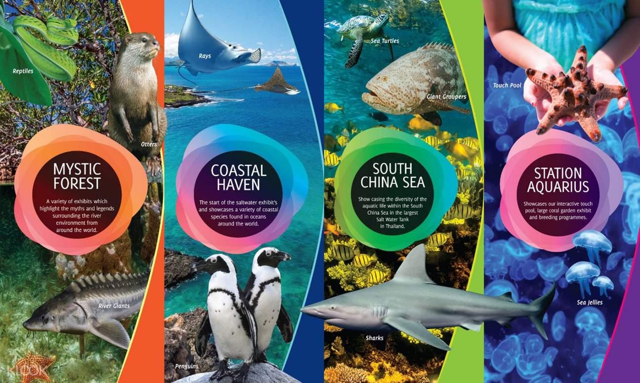 aquaria attractions