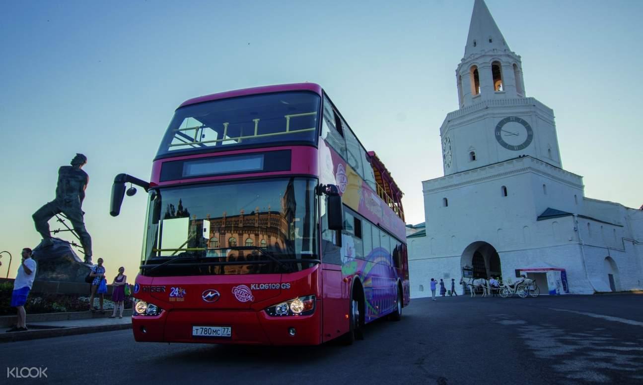 Kazan Hop-On Hop-Off bus photo