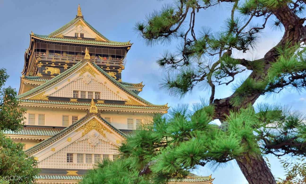 大阪城の眺め