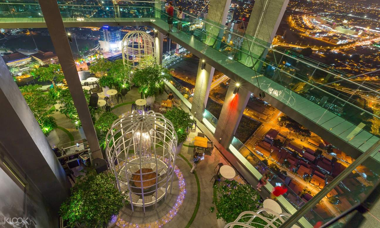 interior design and decoration of the Sky Tower