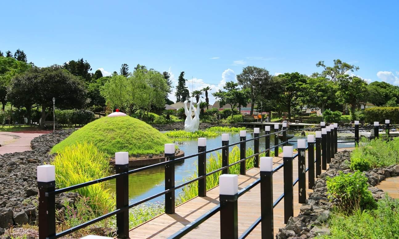 Jeju Love Land outdoor area