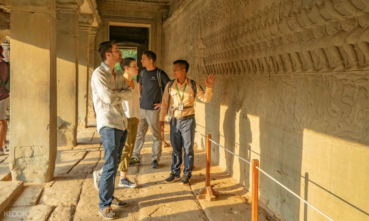 tourist visit angkot wat