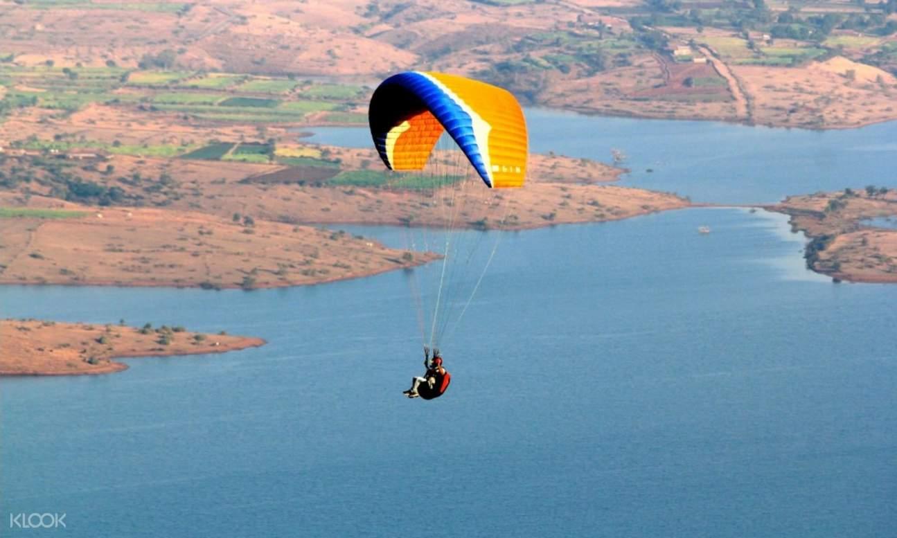 tandem paragliding kamshet