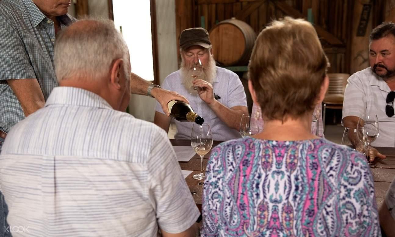 people  wine tasting