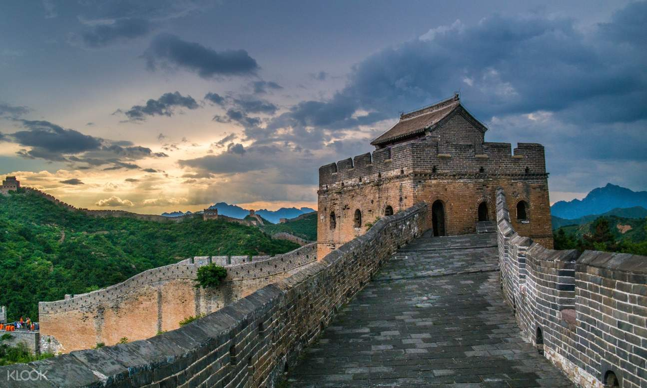 view of pathway along Great Wall