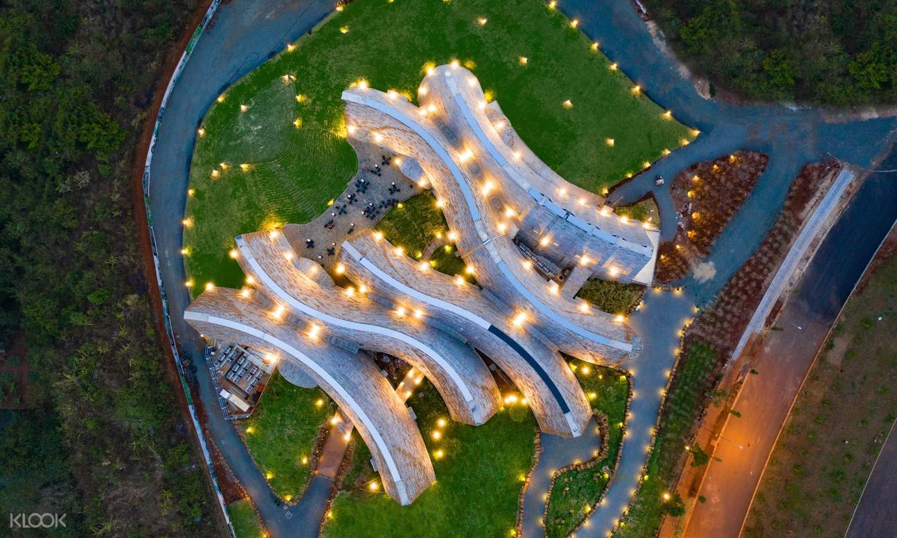 top view of World Coffee Museum