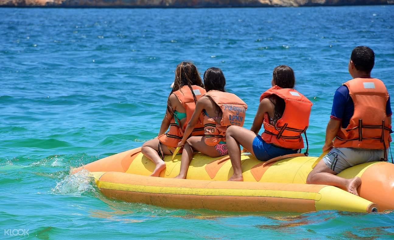 迪拜香蕉船骑行