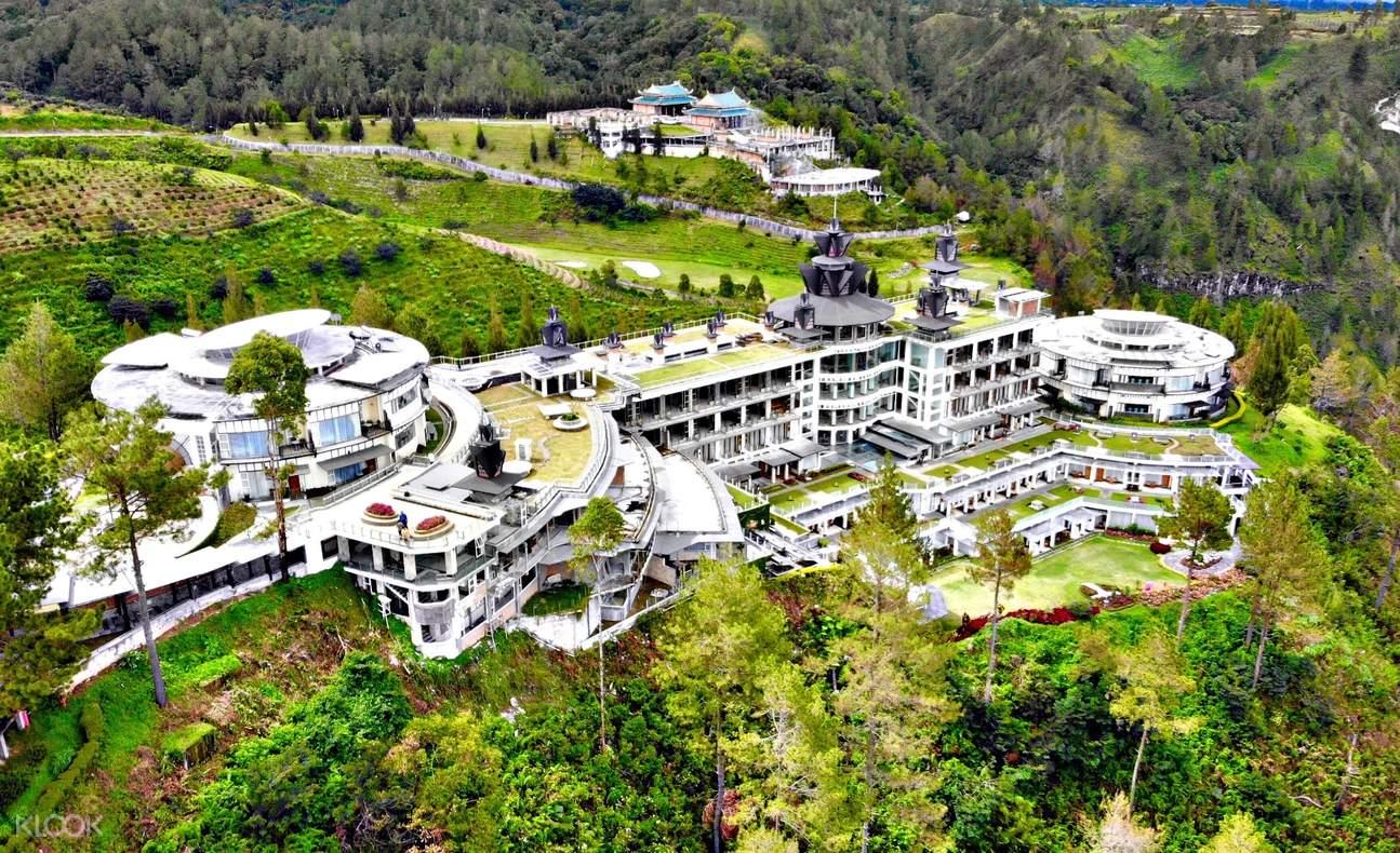 Aerial view of Taman Simalem Resort