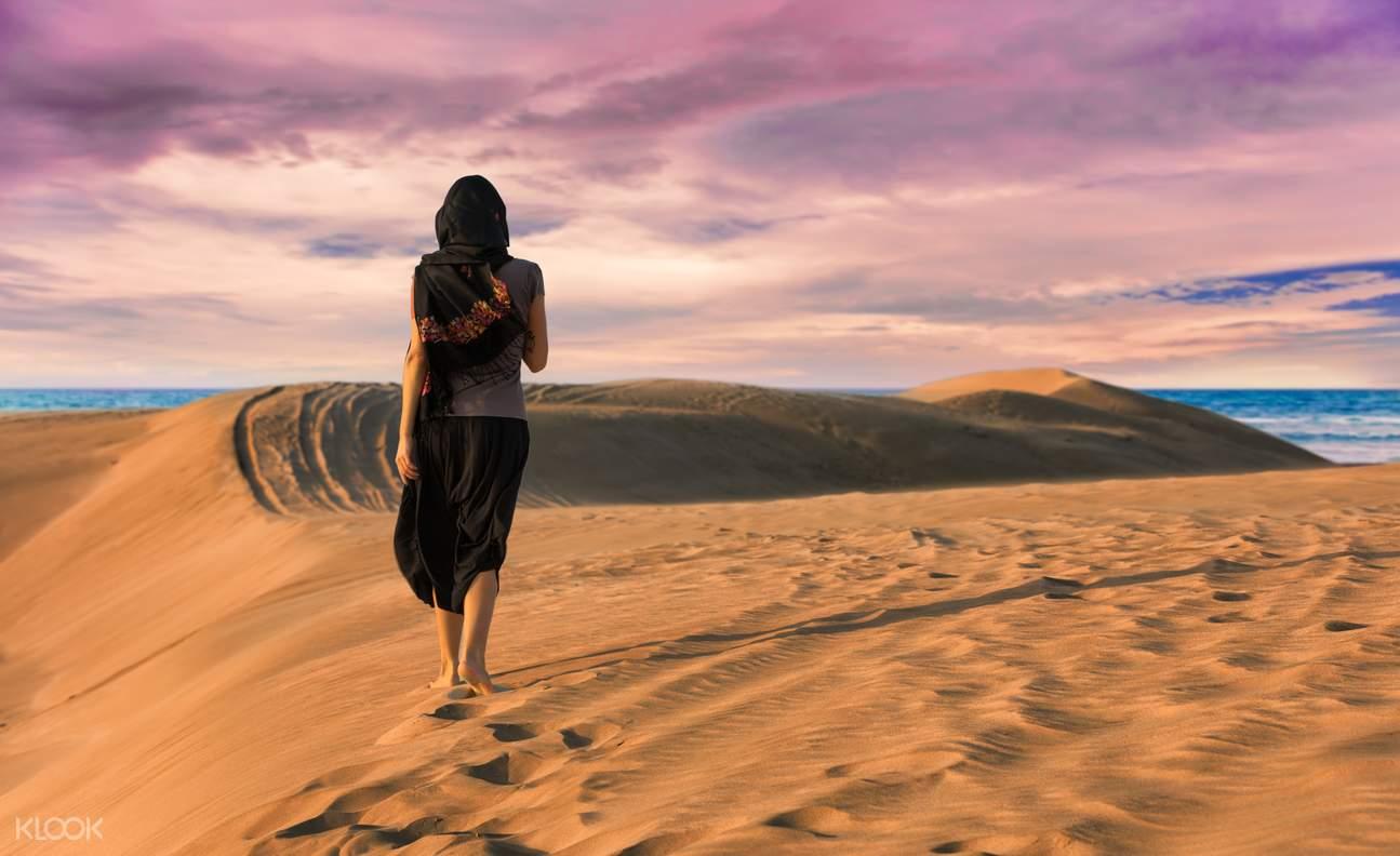 多哈沙漠冲浪半日游