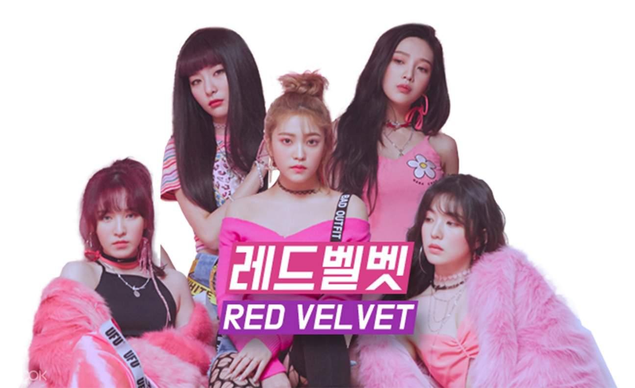 2018 釜山BOF閉幕式門票 Red Velvet