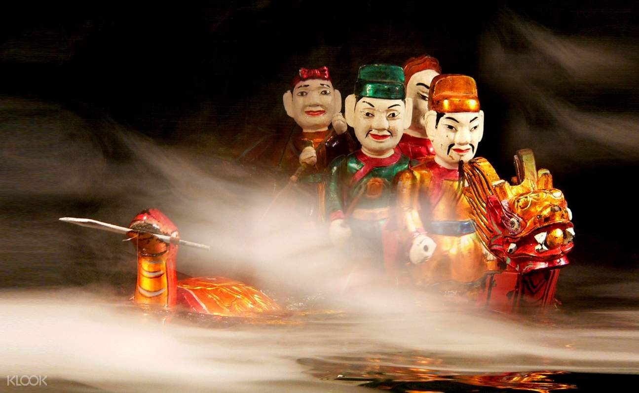 puppets dragon boating