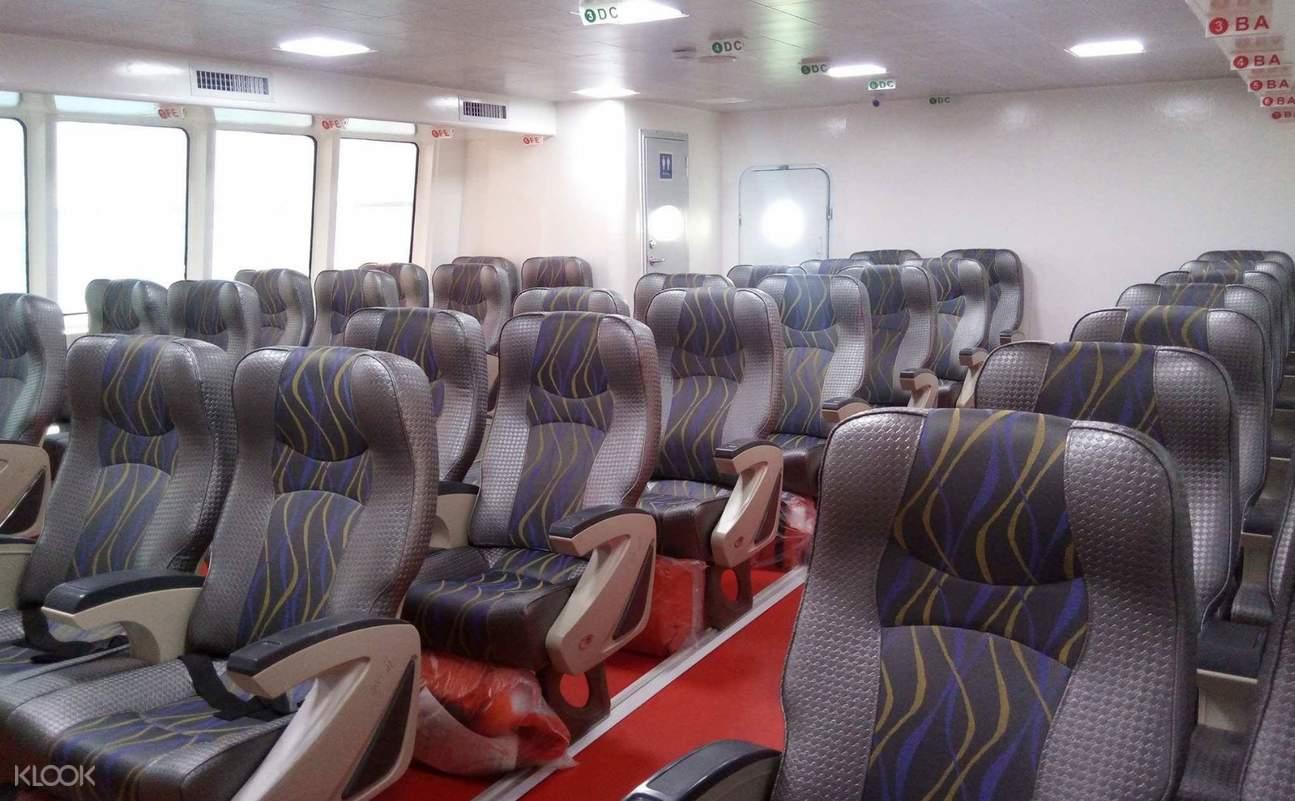 business class oceanjet ferry
