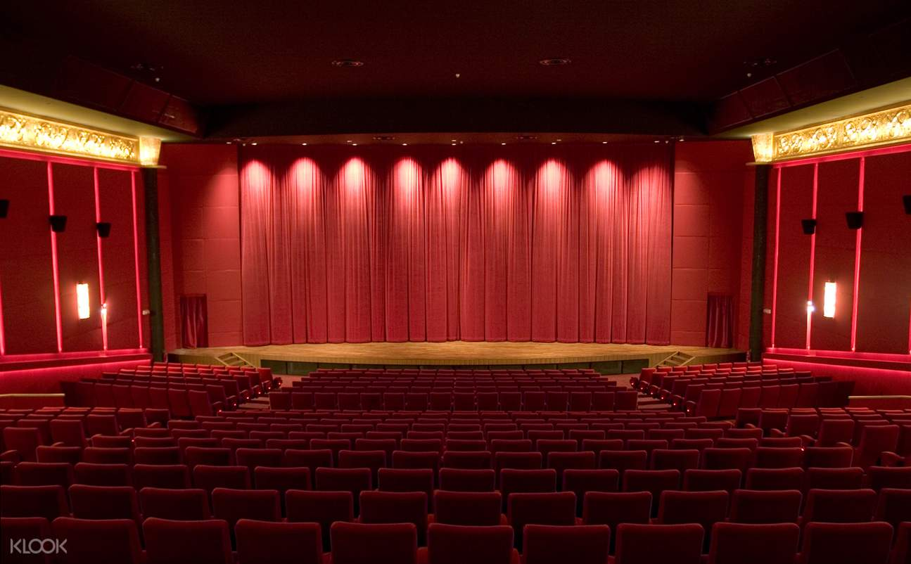 movie stage inside a movie house in singapore