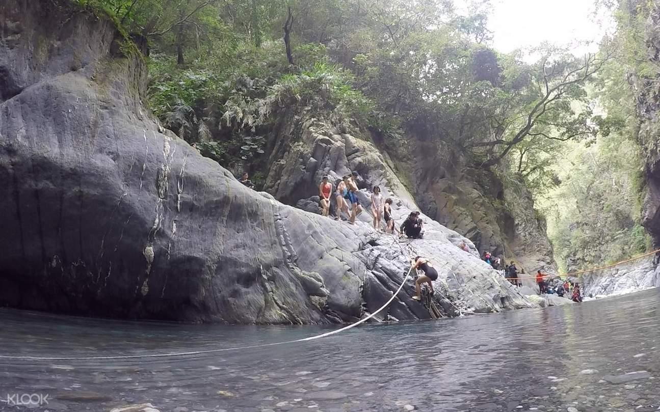 栗松野溪溫泉