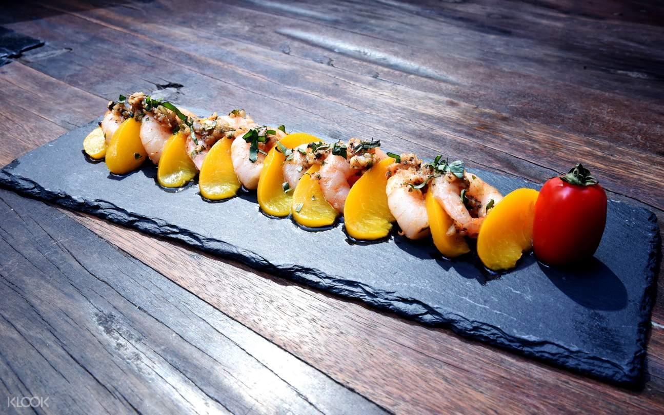 旺角酒吧The Trafalgar 香蒜蝦