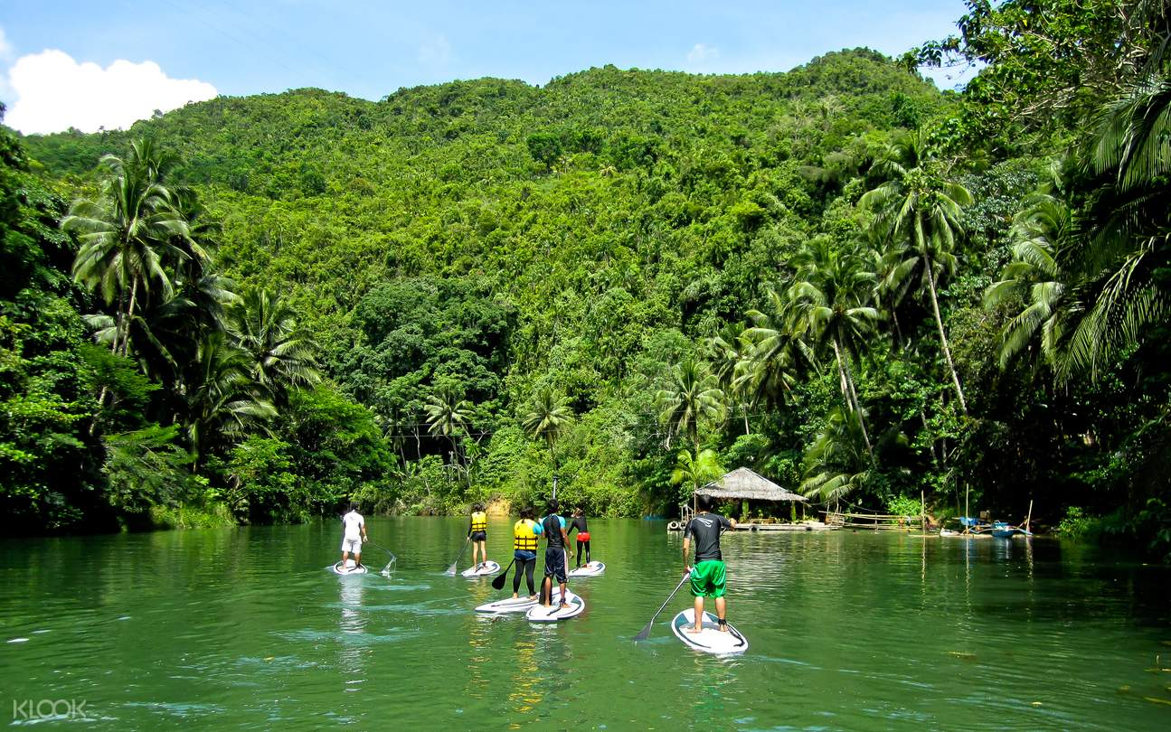 Loboc River Stand Up Paddle Boarding
