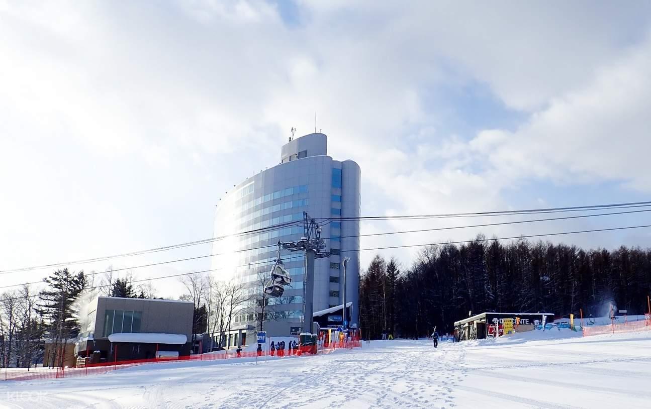 building ropeway, furano ski resort