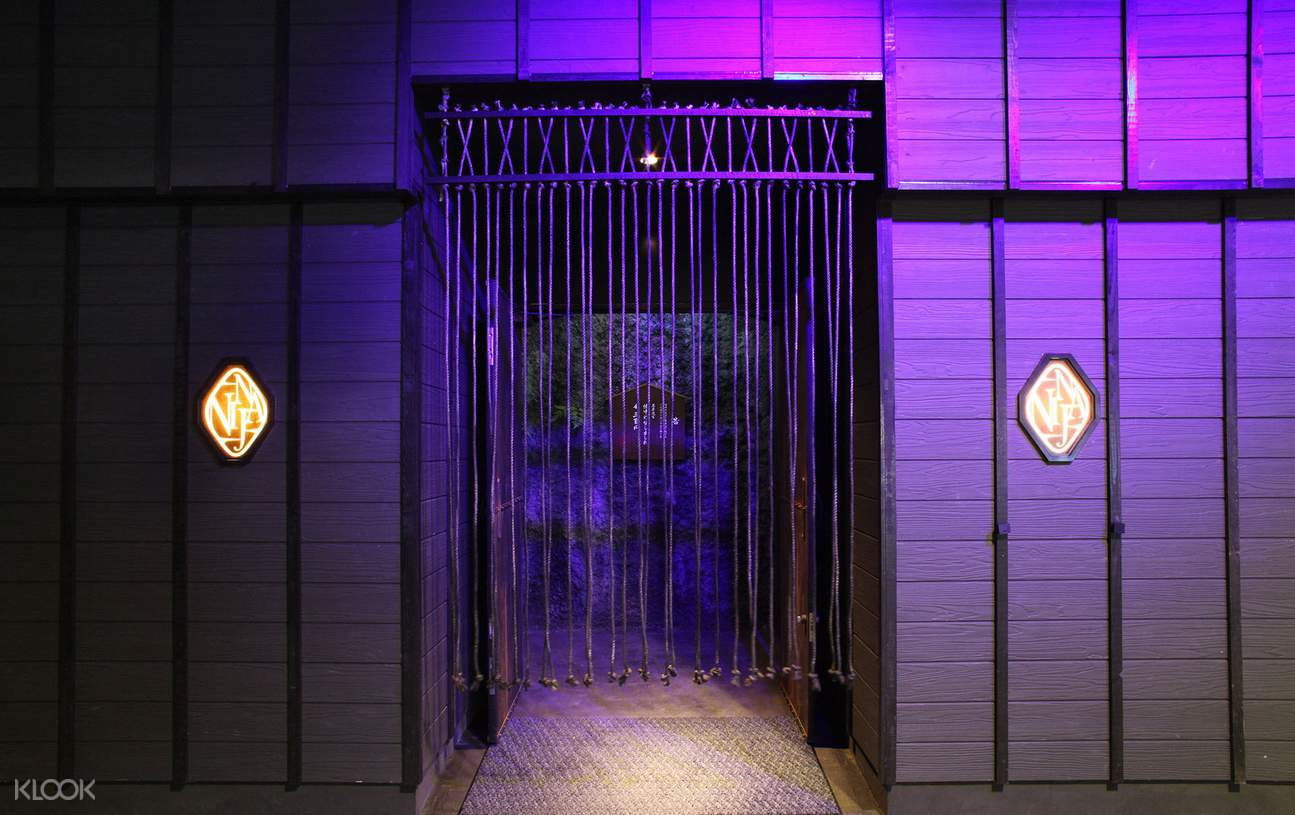 Ninja Kyoto Restaurant & Labyrinth interior