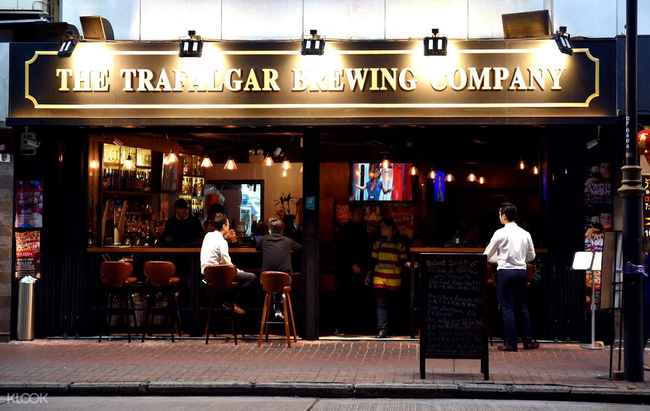 the trafalgar brewing company mong kok