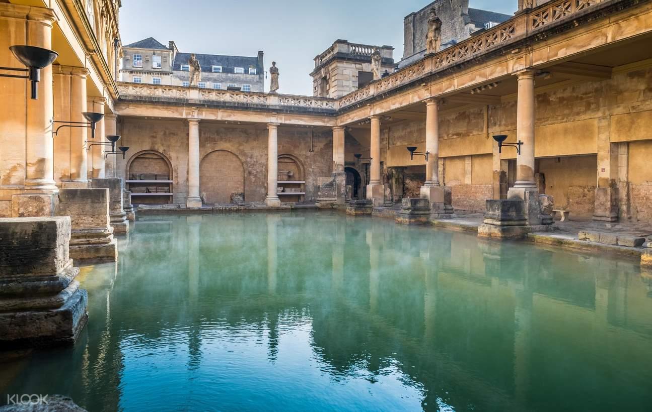 roman baths london