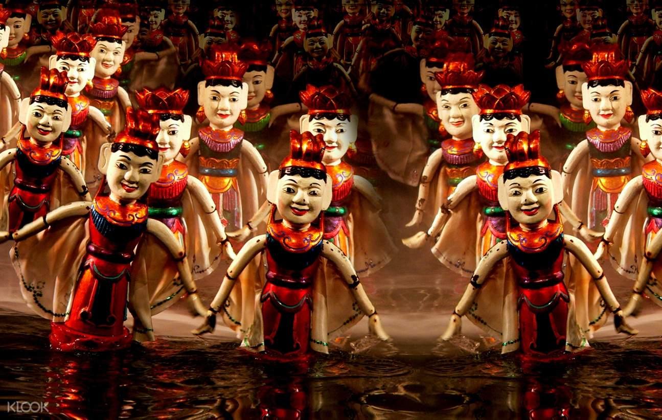 puppet at nha trang puppet show