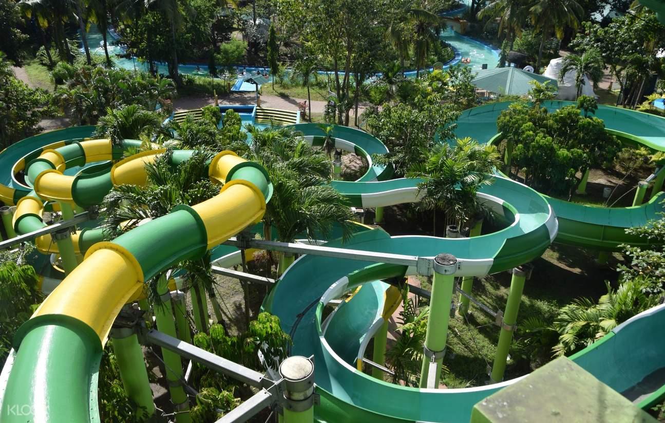 菲律宾 内湖省 比尼扬Splash Island水上乐园门票
