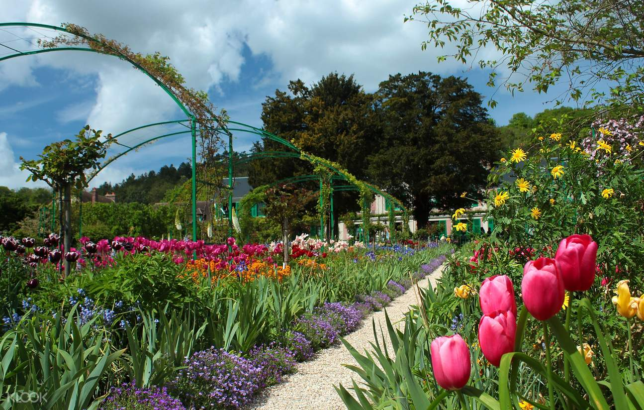 吉維尼花園和房子
