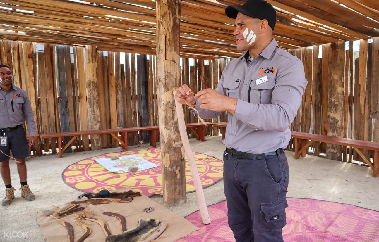 sydney zoo aboriginal culture
