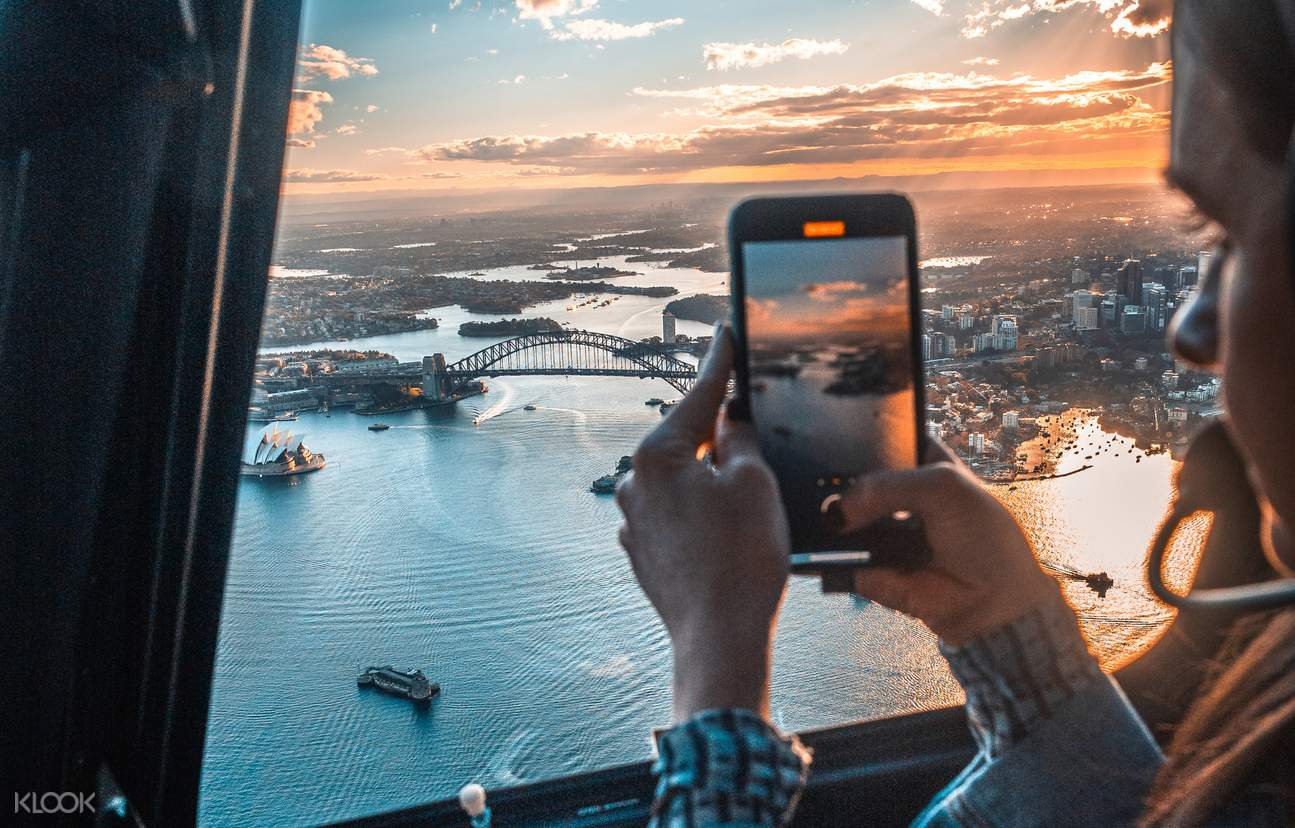 sydney helicopter views