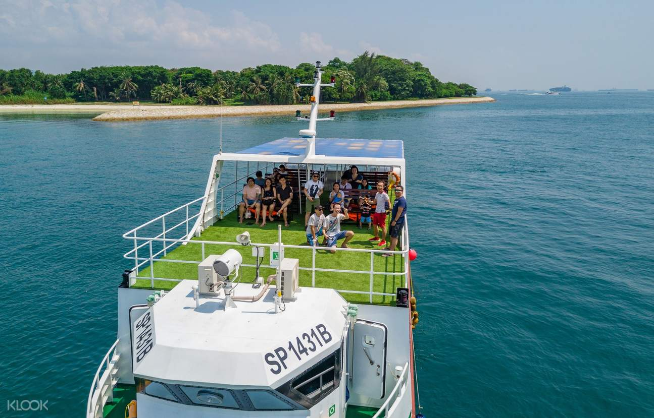 Island hopping ferry
