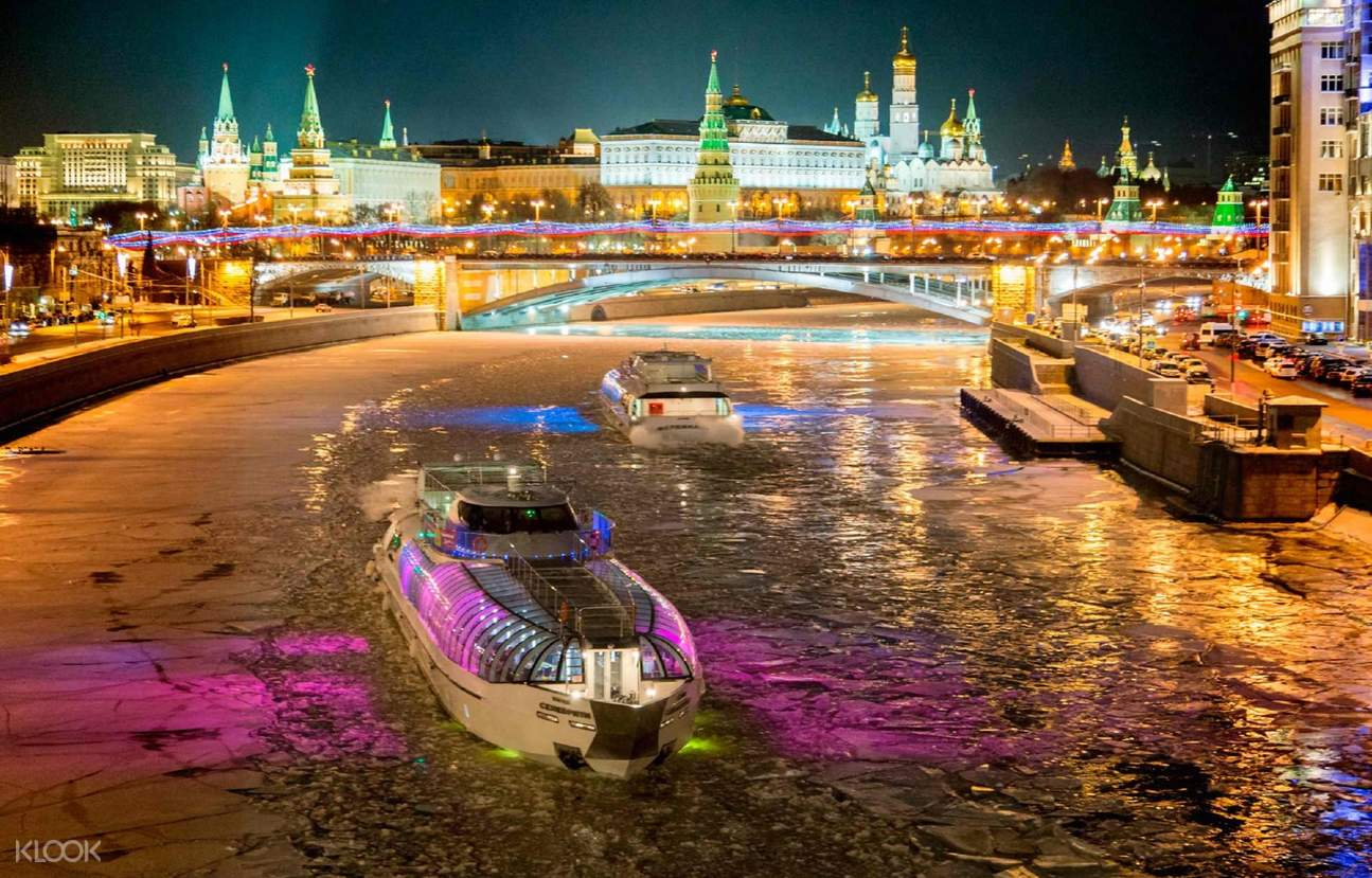 moscow evening cruise