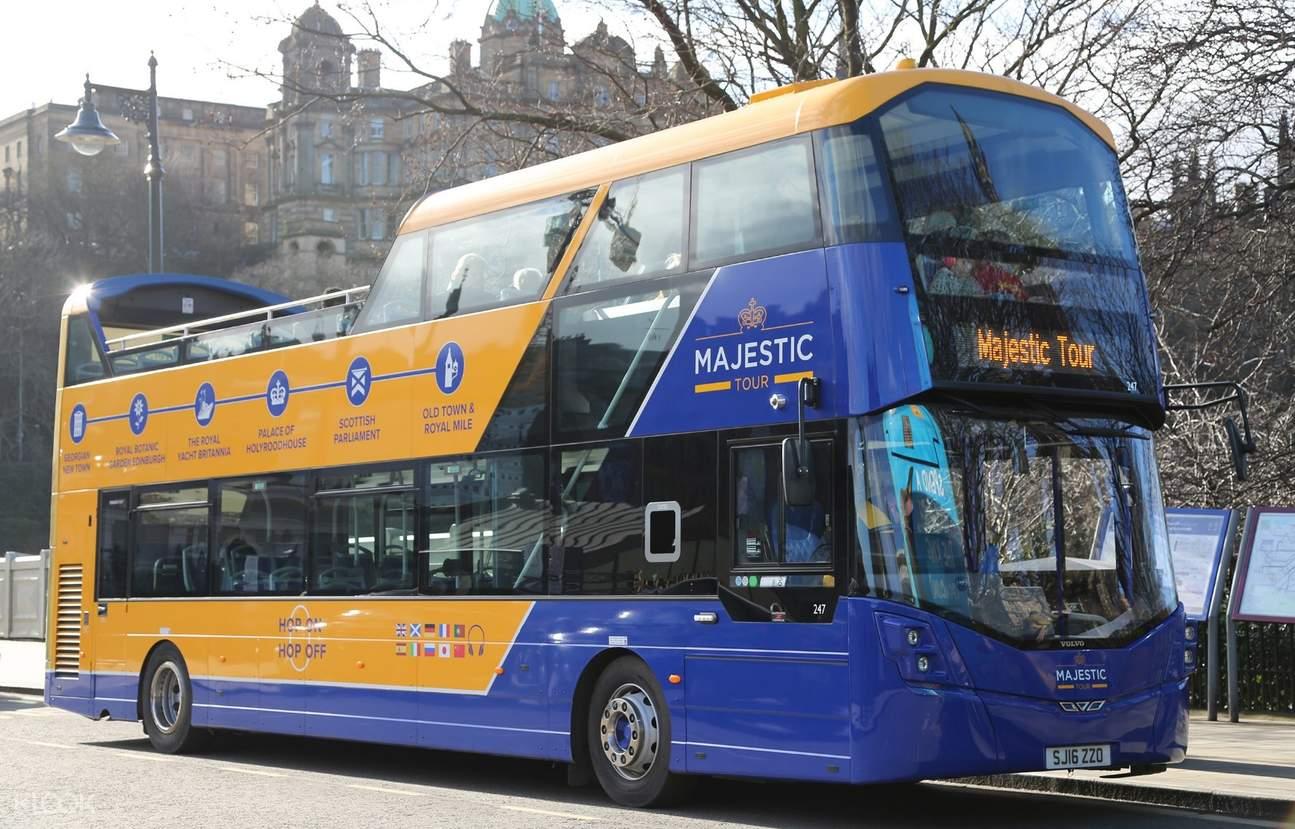 皇家愛丁堡觀光巴士48小時隨上隨下車票