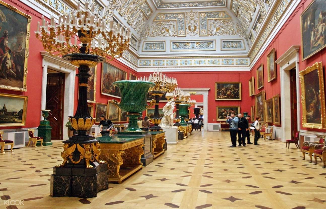 俄罗斯 圣彼得堡 冬宫博物馆