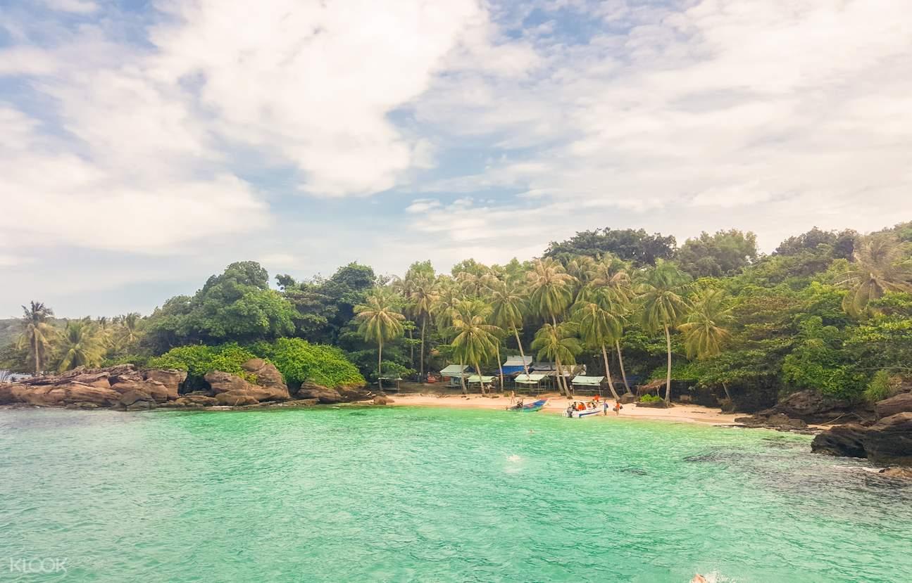 Fingernail Island in phu quoc
