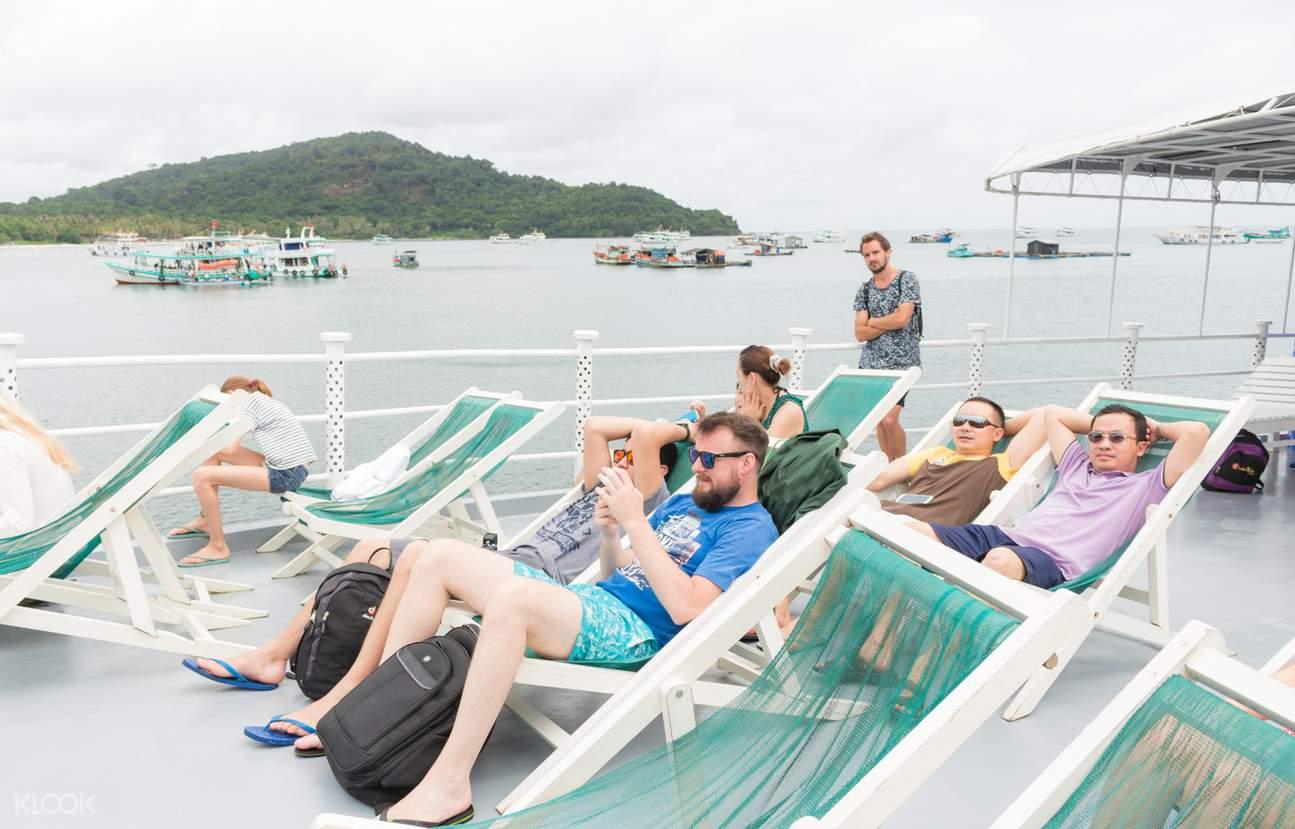 富国岛游泳
