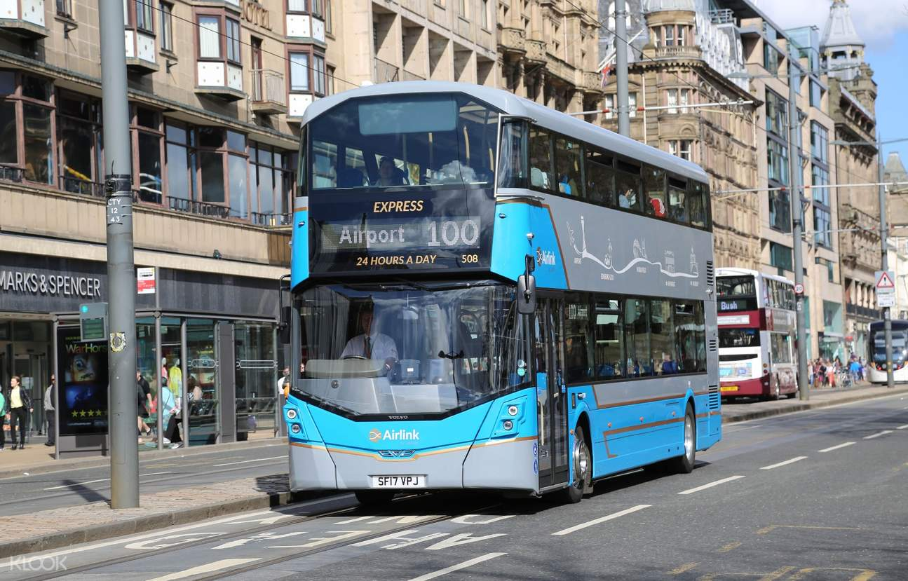 Shuttle Bus Transfers from Edinburgh Airport (EDI) to City