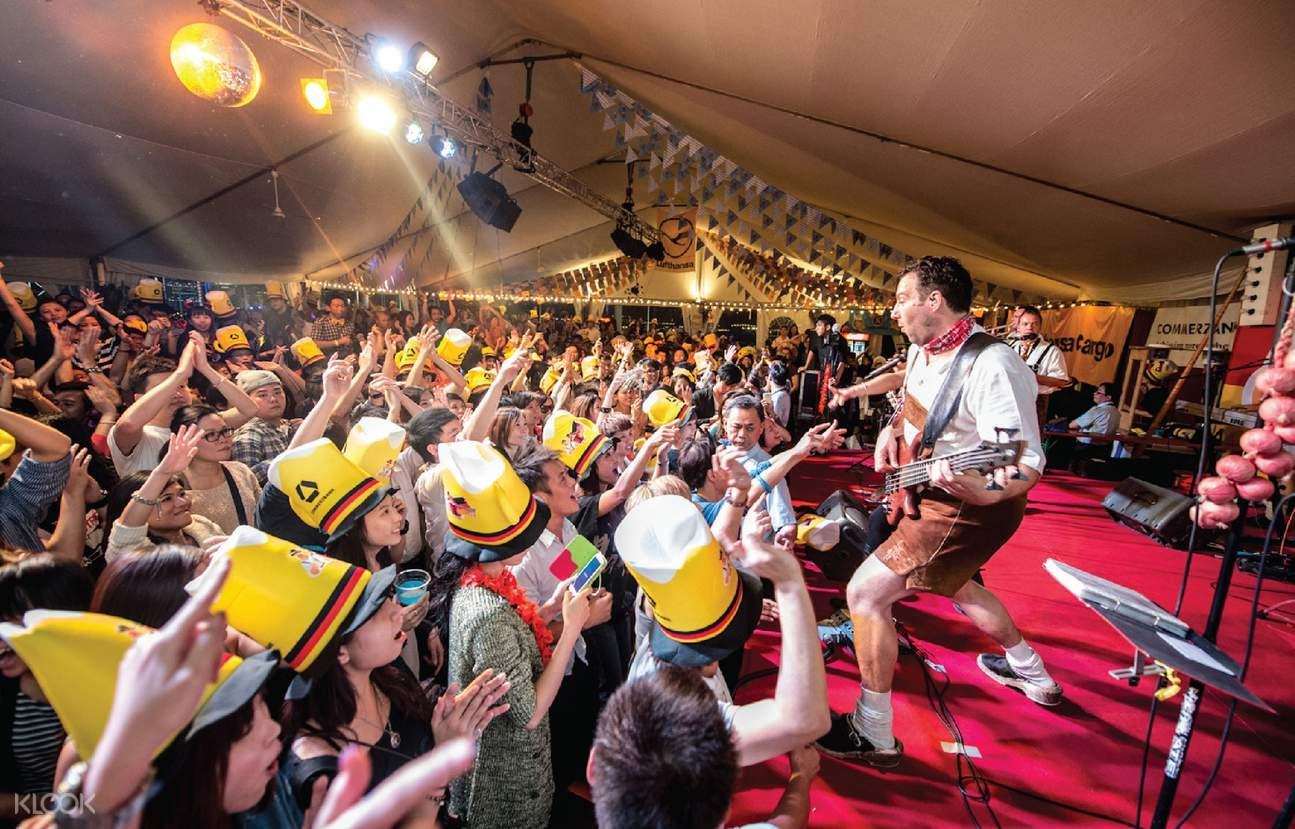 2018香港马哥孛罗德国啤酒节入场门票