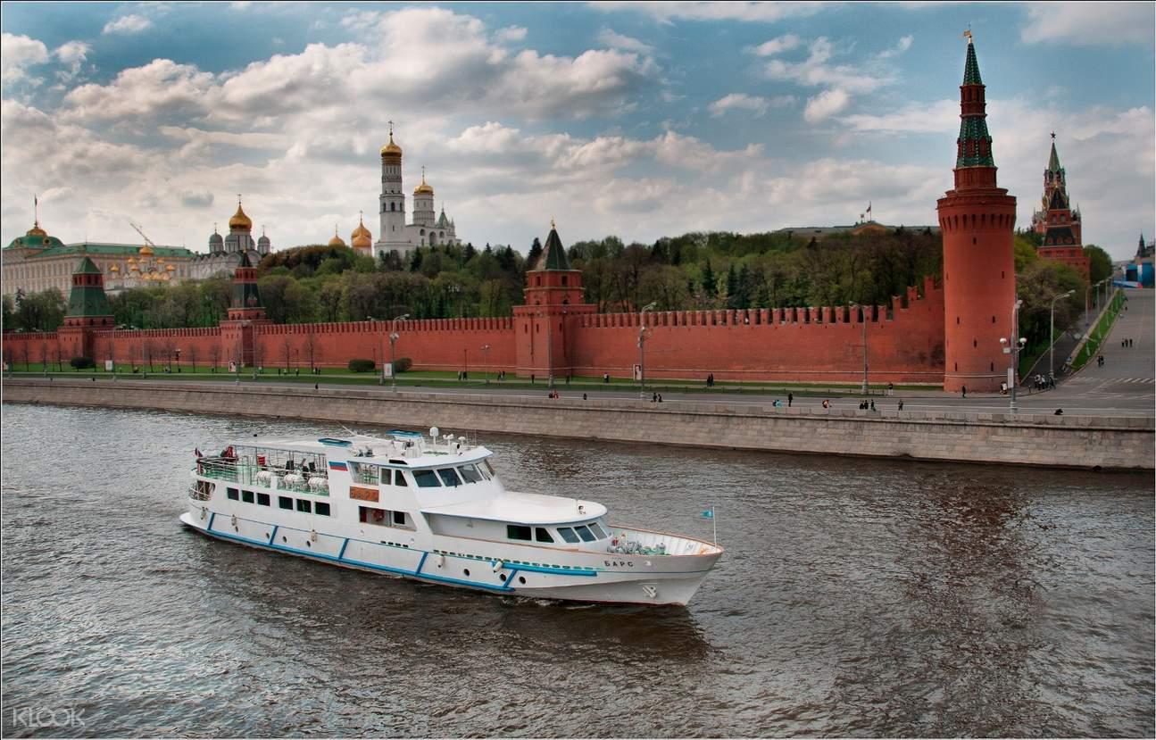 莫斯科豪華遊船門票