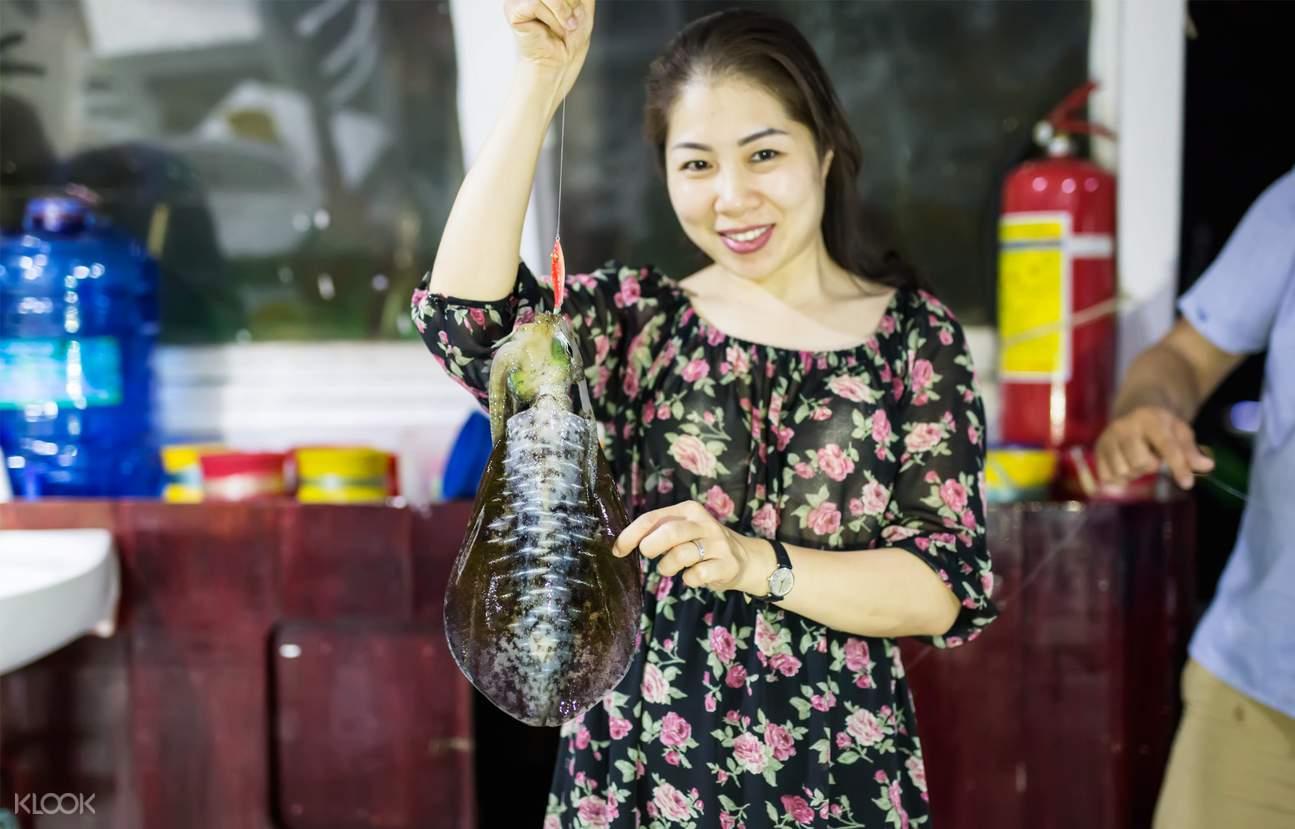 富国岛游轮海鲜料理