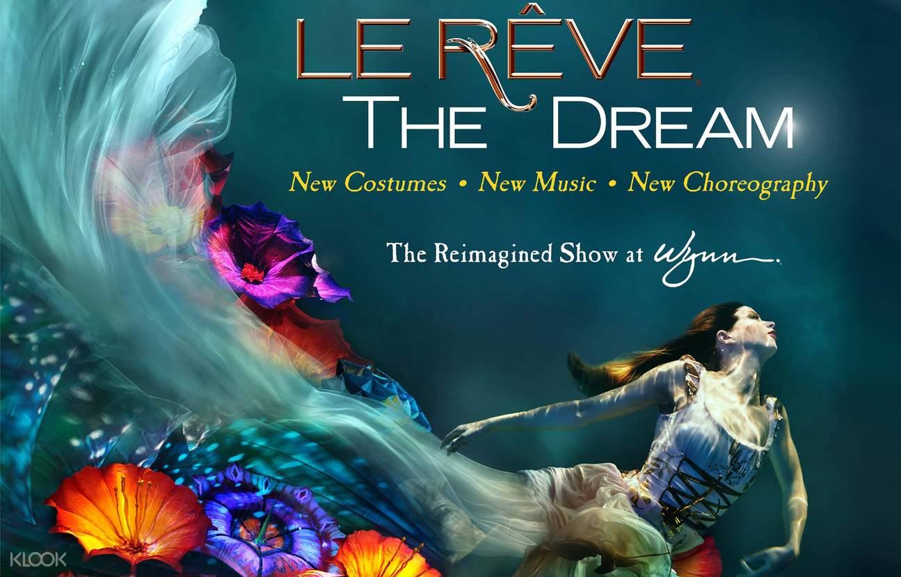 le reve the dream las vegas show