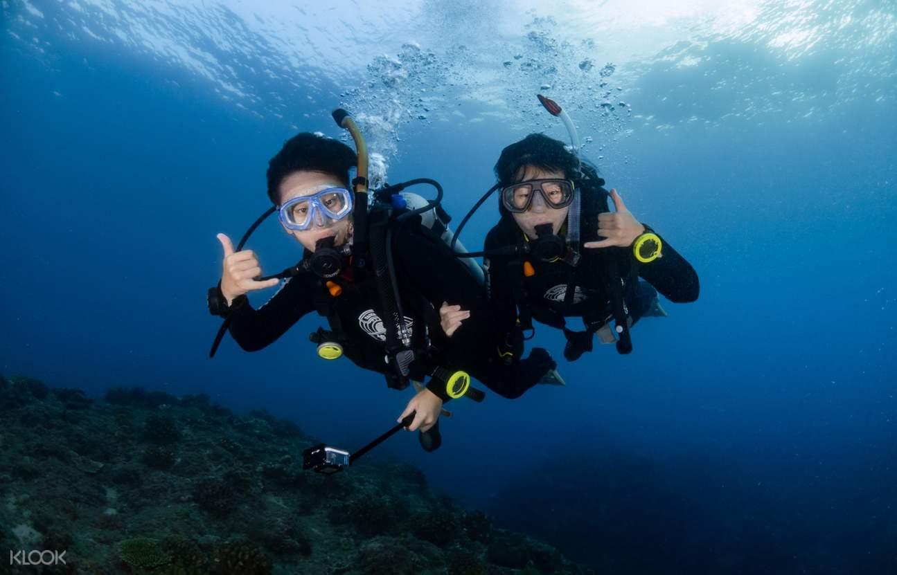 PADI潜水員證書課程